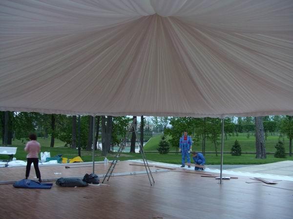 Пол в шатре своими руками 87